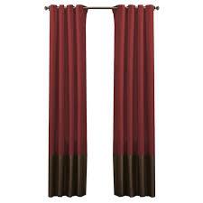 lucille solid blackout grommet curtain panels