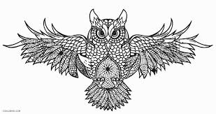 owl coloring pages for adults.  Owl Owl Coloring Pages For Adults In For T