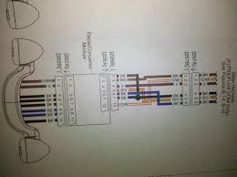 tribar taillight schematics harley davidson forums if you pick up the wires before the converter you can get the individual voltages