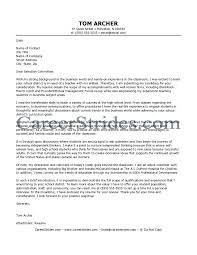 Sample Resume Cover Letter For Teaching Position Refrence Ideas