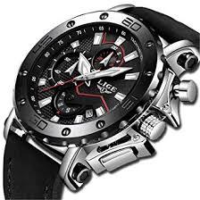 LIGE <b>Mens Watches Fashion</b> Waterproof Sport Quartz <b>Watch</b> Men ...