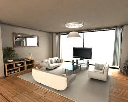 apartment living room present sectional sofa plus glass coffee table faced with sophisticated black tv