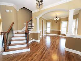High Quality Brown Interior Paint Colors For 2014 For Home With Cool Traditional  Staircase And Wooden Flooring Plus