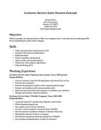 customer service representative resume customer service resume consists of main points such as skills abilities customer services representative resume