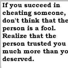 Cheating Men Quotes