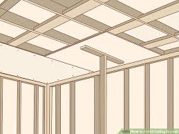 image titled install ceiling drywall step 10