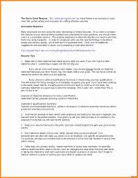Resume Examples For Restaurant Jobs Best Of Restaurants Resume