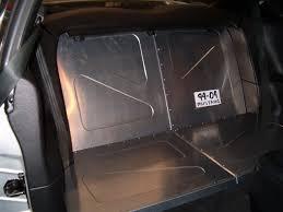 mustang rear seat delete kit