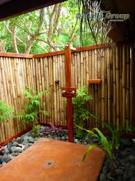 Outdoor Shower Bathroom Extraordinary Designs Of Exterior Look Of Outdoor Shower