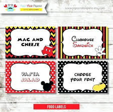 Mickey Mouse Party Printables Free Free Mickey Mouse Birthday Printables Free Mickey Mouse Birthday