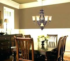 post dining table chandelier height kitchen cabinets liquidators ndelier from room lamp standard