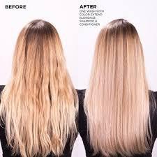 purple shoo for blonde hair