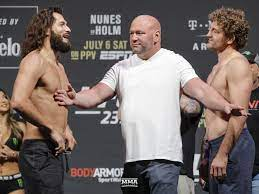 Ben askren profile, mma record, pro fights and amateur fights. Ben Askren Scoffs At Jorge Masvidal Diss You Landed The Luckiest Knee Of Your Life And I Made You Famous Mma Fighting