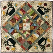 Primitive Quilts and Projects Magazine & Quick View · Garden Walk by Becky Jorgensen Adamdwight.com