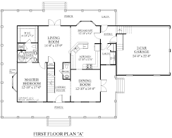 Master Bedroom Suite Layout House Plan 2341 A Montgomery A First Floor Plan Traditional 1 1
