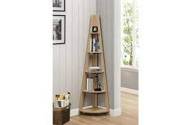 corner shelves furniture. Brilliant Shelves Birlea Nordic Corner Bookcase Oak To Shelves Furniture G