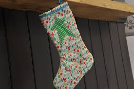 Christmas Stocking Sewing Pattern Cool How To Make A Quilted Christmas Stocking Hobbycraft Blog