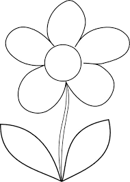 Print Download Some Common Variations Of The Flower Coloring Pages
