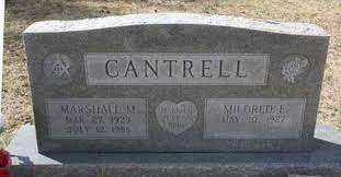 CANTRELL, MARSHALL M - Sevier County, Arkansas | MARSHALL M CANTRELL -  Arkansas Gravestone Photos
