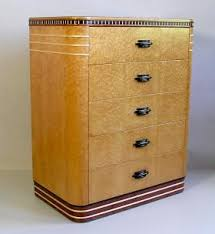 art deco furniture restoration. birdseye maple art deco dresser by joel liebman furniture restoration d