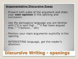 discursive writing a guide to unit overview today s learning 11 discursive writing openings argumentative discursive essay
