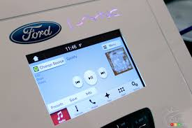 ford s sync debuts at blue oval s home montmorency ford