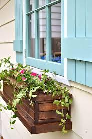Flower box design Wood Planter Cute Slatted Wood Window Box With Flowers Artistsandhya 26 Best Window Box Planter Ideas And Designs For 2019