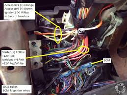 gmc yukon remote start pictorial wiring