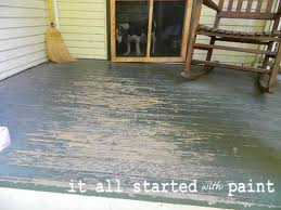 using porch floor paint to create a painted rug and porch flooring ideas india