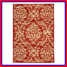macias fleur de lis red beige area rug rug size rectangle 2 x 3