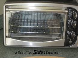 a tale of two sisters creations how to clean toaster oven and remove melted plastic