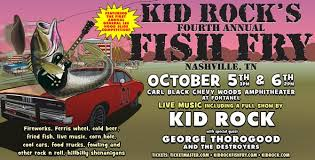 Kid Rock Reveals Dates For Annual Fish Fry Festival In