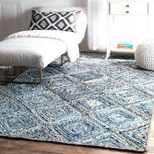 nuloom jute rug jute rug handmade braided geometric diamond jute rug chunky loop jute rug nuloom