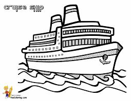 Spectacular Cruise Ship Coloring Cruises Free Ship Printables