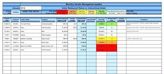 Tracking Inventory Excel Excel Template Invoice Tracking Inventory Tracker Sheet Vendor