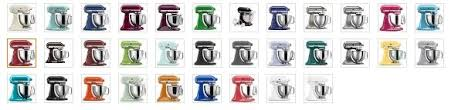kitchenaid mixer colors 2016. colors available on kitchenaid artisan mixers kitchenaid mixer 2016