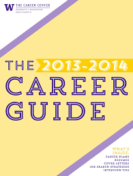 2013 2014 University Of Washington Career Guide By The Career