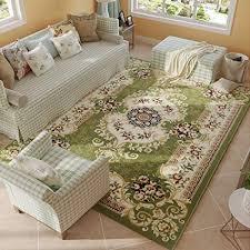 Amazon MAXYOYO European Beautiful Floral Carpet Rug Soft Plush Enchanting Living Room Carpets Rugs