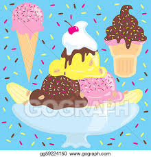 ice cream sundae with sprinkles clipart.  Sprinkles Ice Cream Sundae Party And Cream With Sprinkles Clipart S