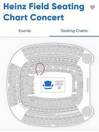 Garth Brooks Seating Chart Heinz Field Garth Brooks 2 Tickets 300 00 Picclick
