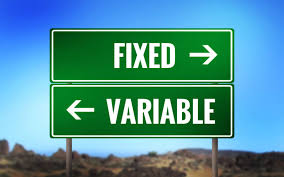 Image result for fixed or variable rates