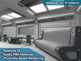 Sci fi ceiling texture Futuristic Scifi Interior Pack Unity Asset Store Scifi Interior Pack Asset Store