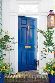 Charleston China Blue Front Door