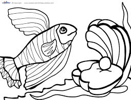 Small Picture Printable Under The Sea Coloring Page 3