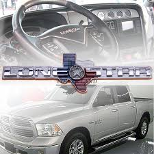 For Chevrolet Dodge Ram Truck Lone Star 1500 2500 3500 Car Styling ...