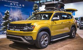 2018 volkswagen atlas interior. interesting 2018 volkswagen shows atlas weekend edition with accessories and 2018 volkswagen atlas interior