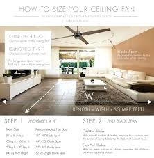 Ceiling Fan Too Big For Room Ameriblog Info