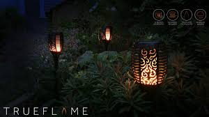 Landscape Lights That Look Like Flames Trueflame Solar Torch Light With Flickering Flame
