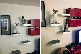 cat wall mounts cat climbing shelves home decor ideas for living room home ideas editor