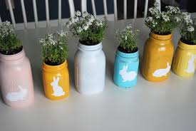 Painted Mason Jars Spray Painted Mason Jars By Just Another Day In Paradise The